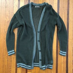 🌟 American Eagle lcardigan sweater green duster
